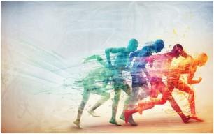running-figure